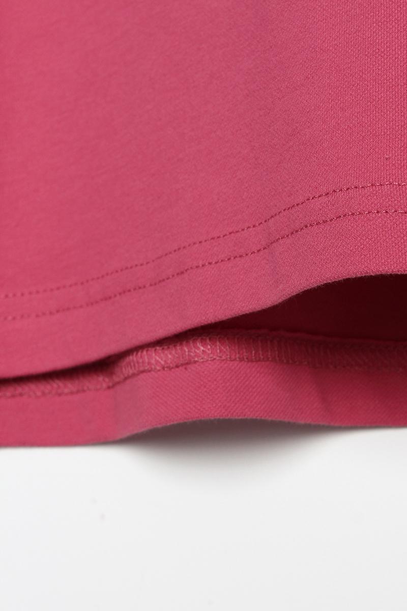 Basic Arkası Baskılı Penye Sweat Tunik