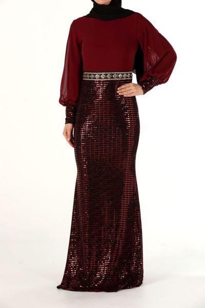 Astarlı Abiye Elbise