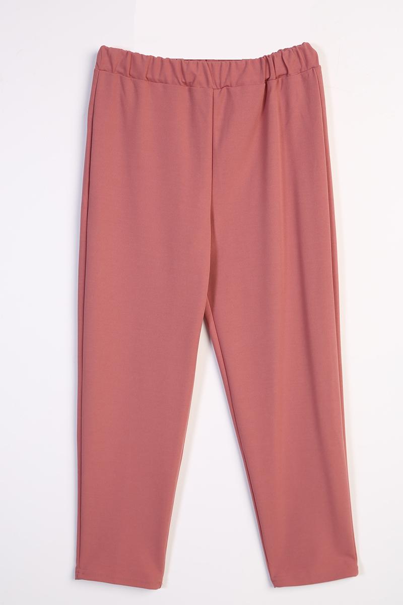 Bel Lastikli Basic Pantolonlu Takım