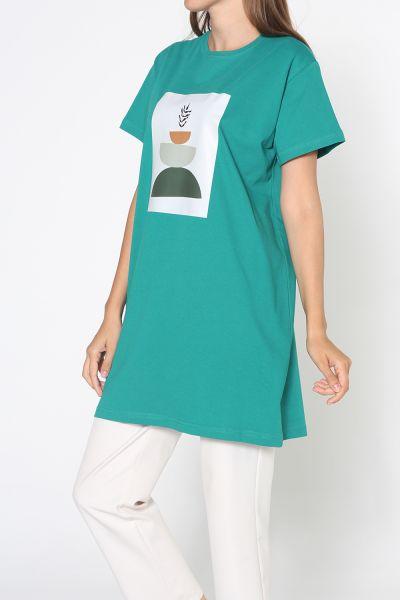 Baskılı Kısa Kol T-Shirt