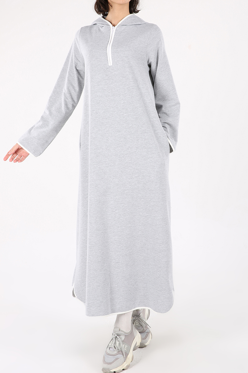 Biyeli Pamuk Elbise