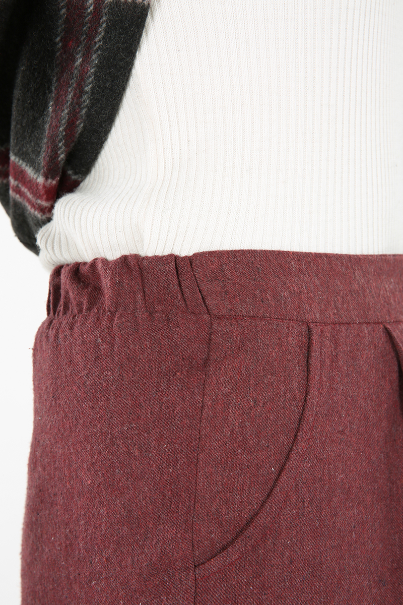 Boru Paça Cepli Pantolon