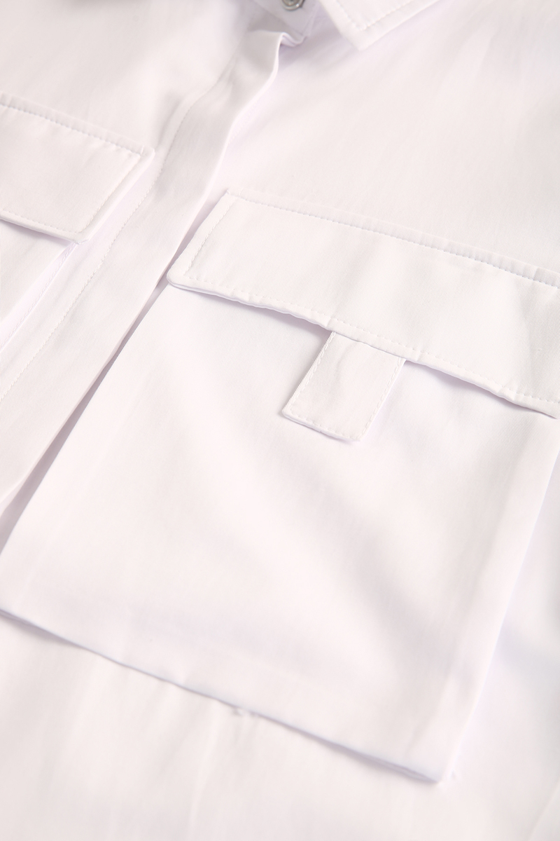 Büyük Çift Cepli Gömlek Tunik