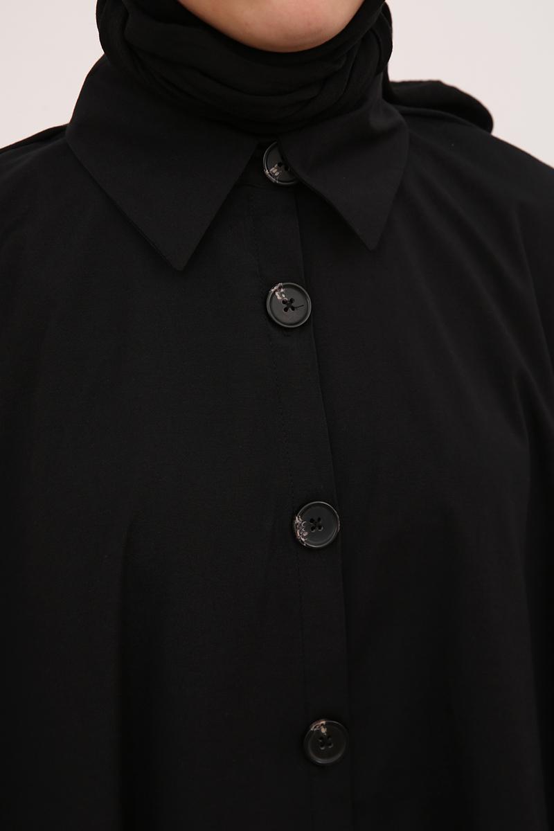 Cep Detaylı Gömlek Tunik