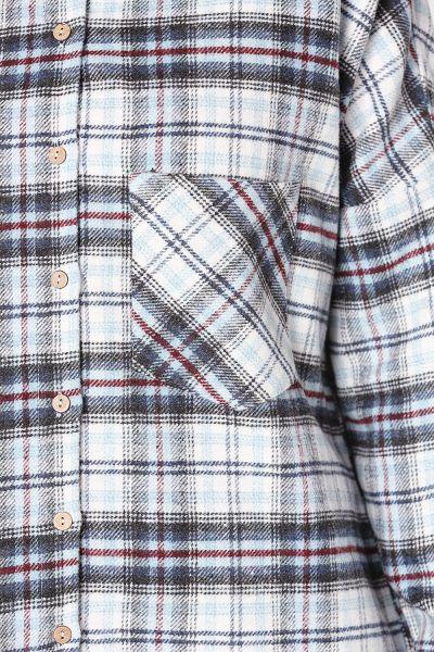 Cepli Ekose Gömlek Tunik
