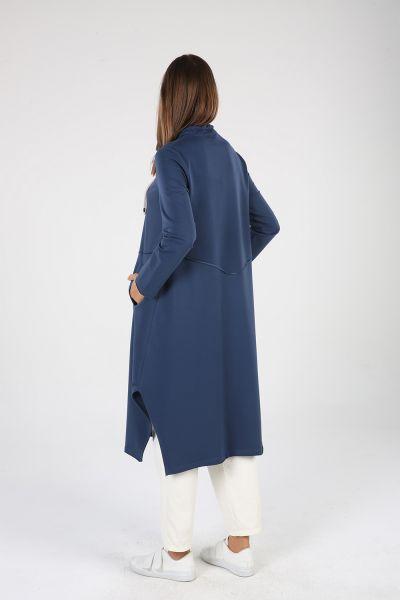 Renkli Bağcık Detay Cepli Elbise Tunik