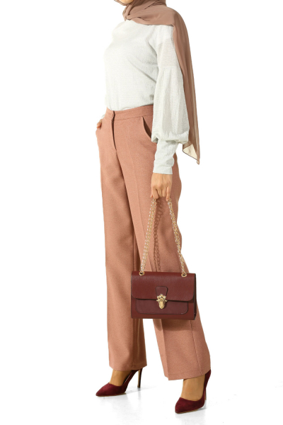 Cepli Klasik Kumaş Pantolon