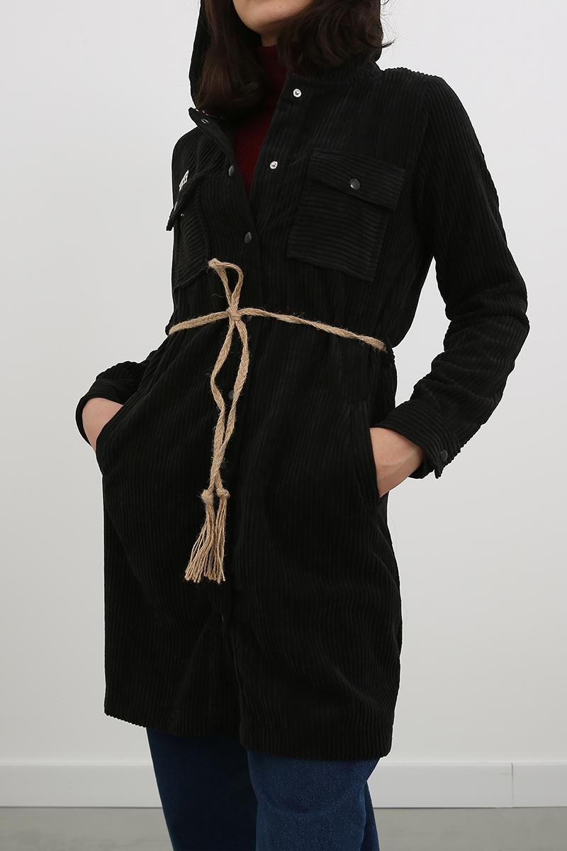 Cepli Uzun Ceket