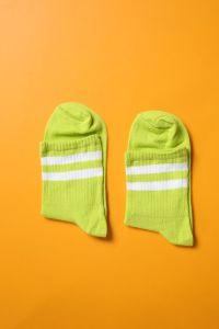 Çizgili Soket Çorap