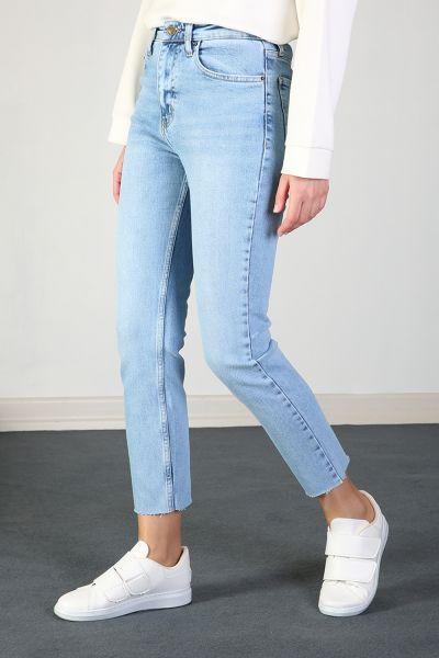 Pamuklu Denim Pantolon