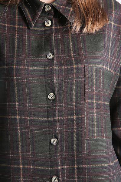 Cepli Oduncu Gömlek Tunik