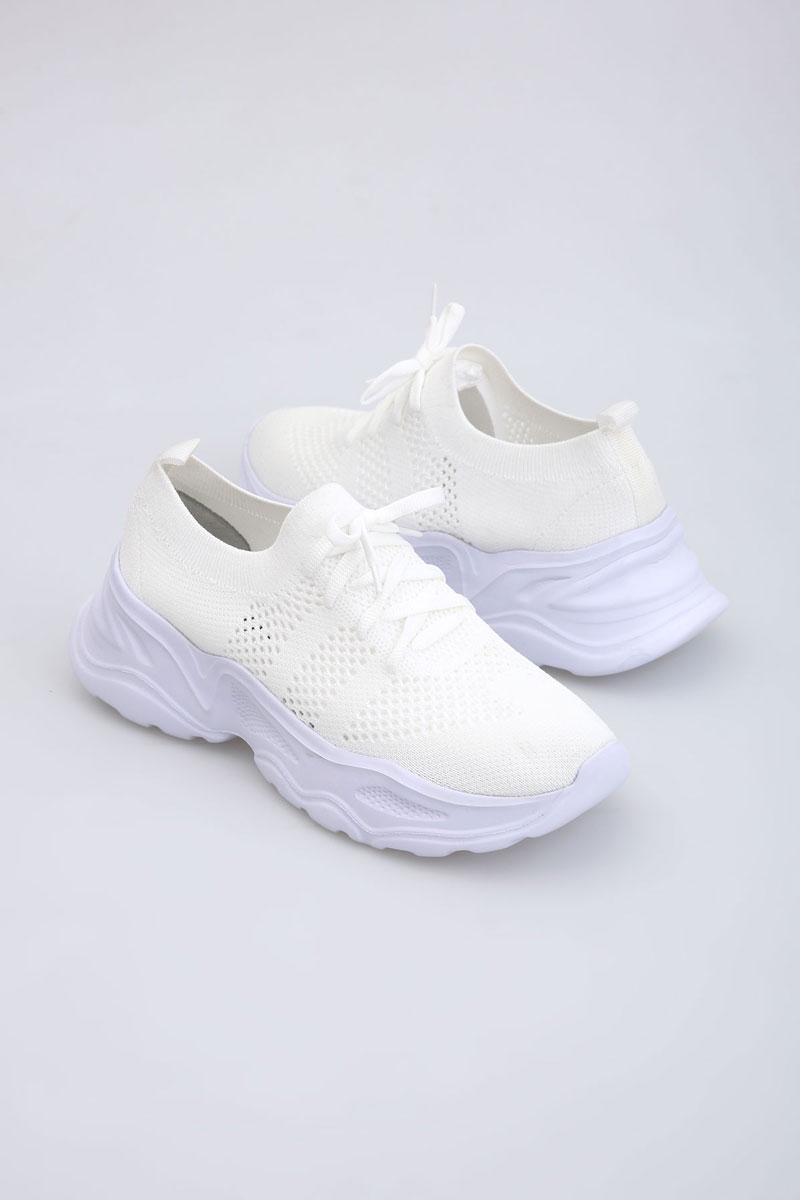 Fileli Spor Ayakkabı