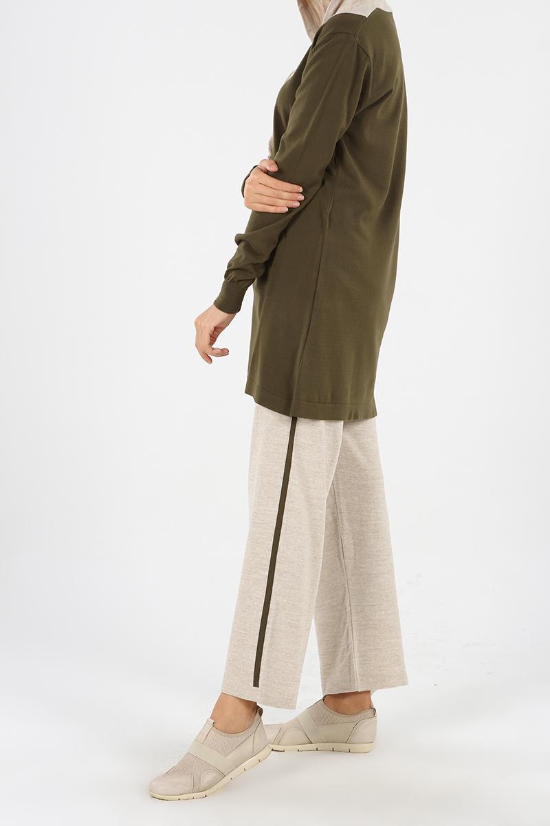 Garnili Bol Paça Pantolon Takım