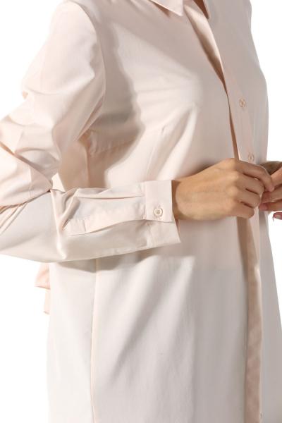 Basic Gizli Patlı Gömlek Tunik