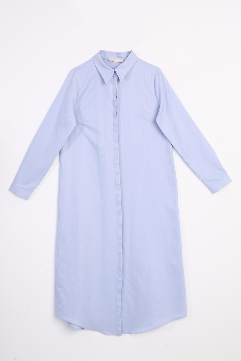 Pamuklu Uzun Gömlek