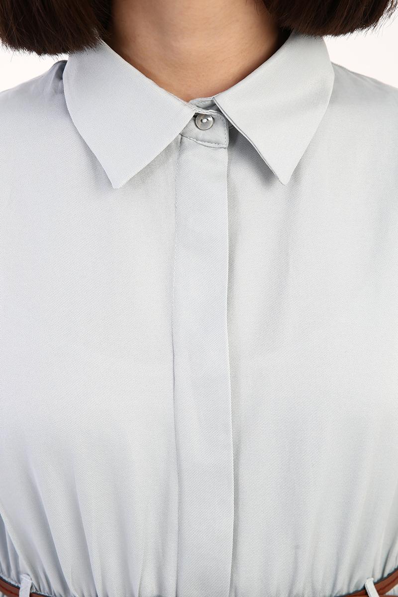 Kemerli Gömlek Tunik