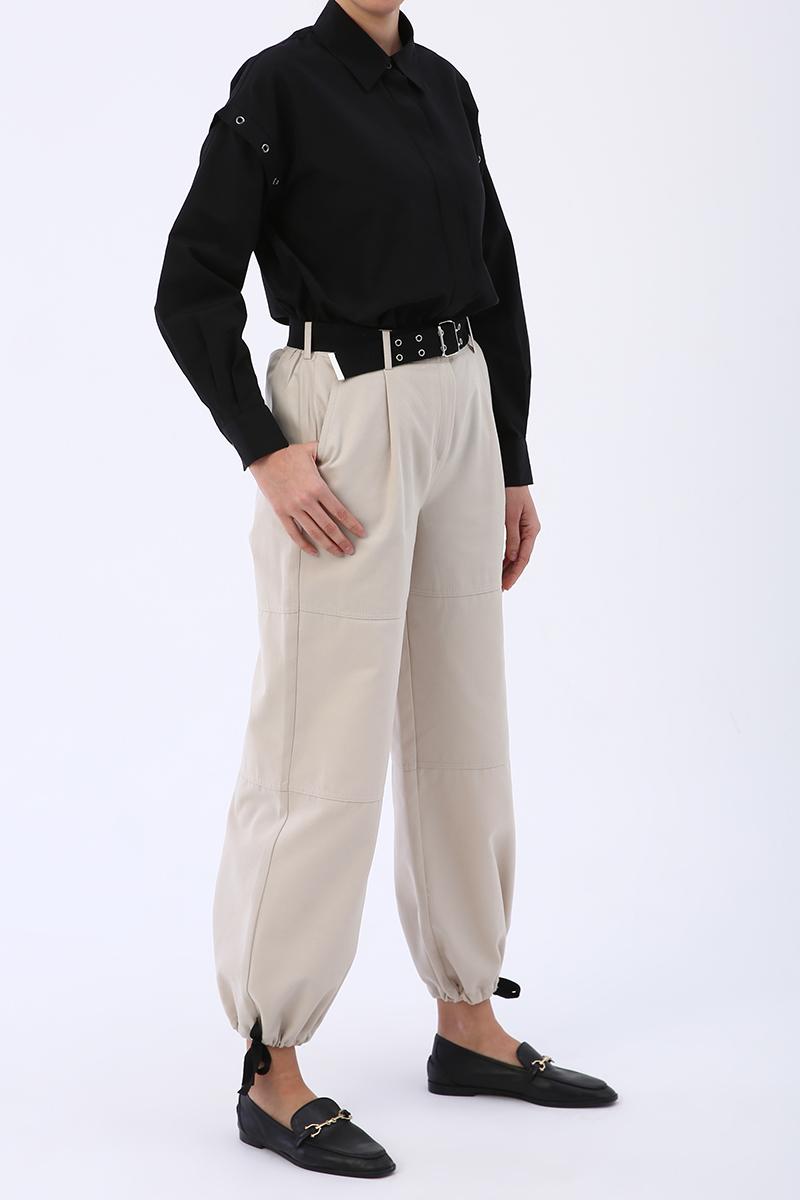 Kemerli Kargo Pantolon