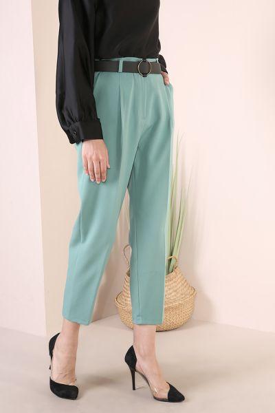 Kemerli Klasik Pantolon