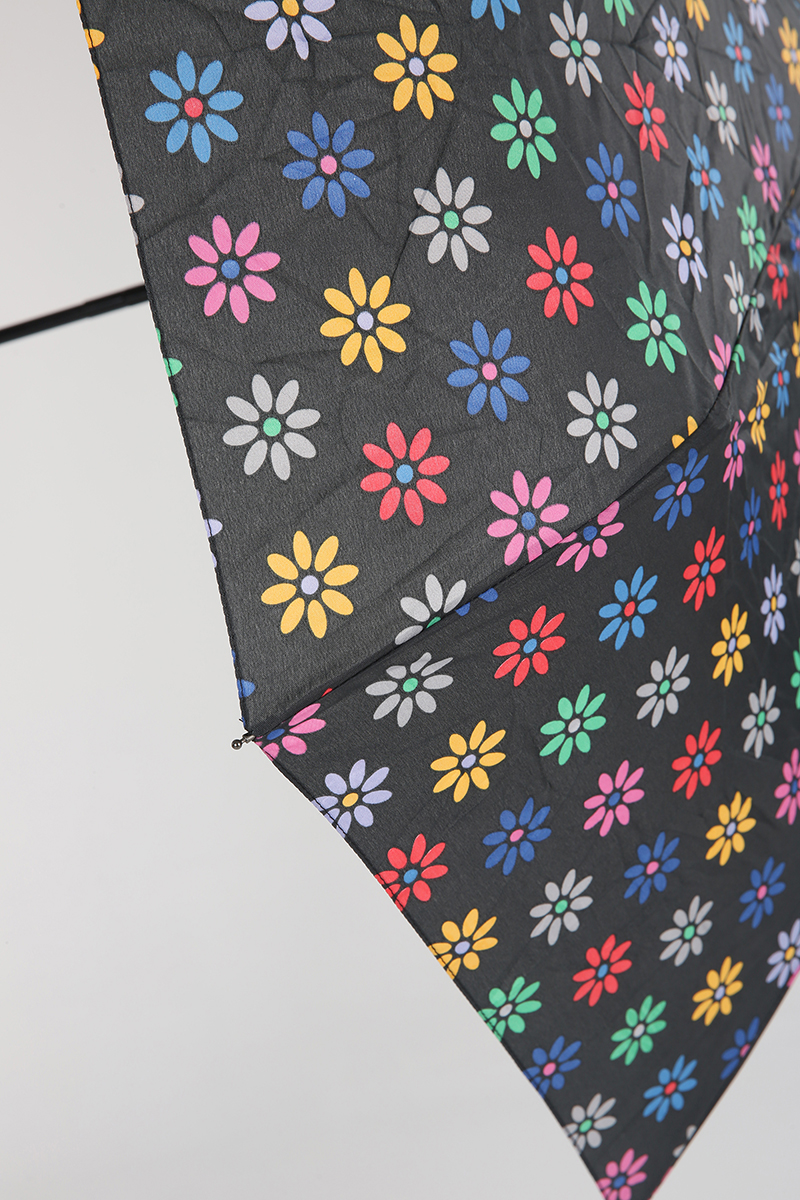 Kılıflı Çiçek Desenli Şemsiye