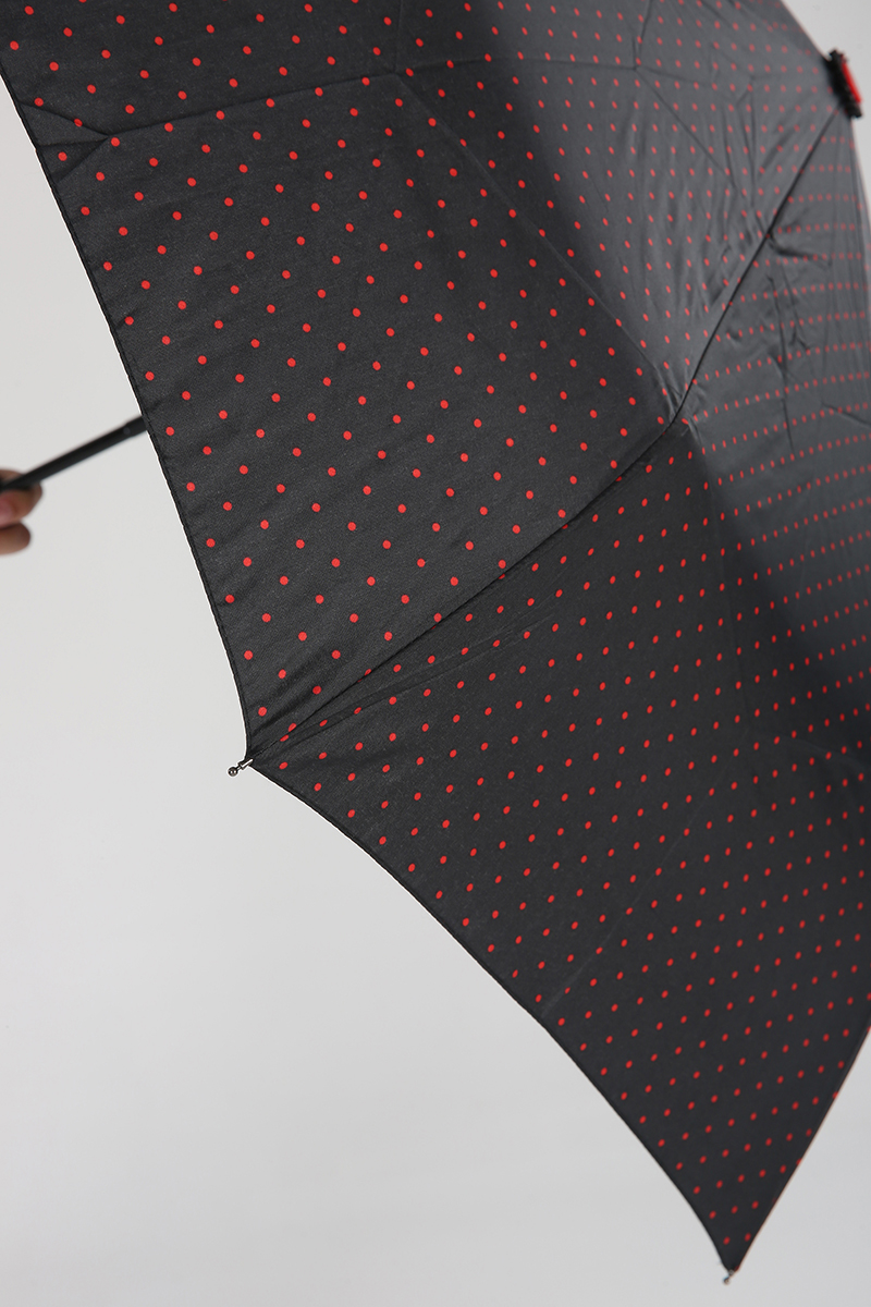 Kılıflı Puantiye Desenli Şemsiye
