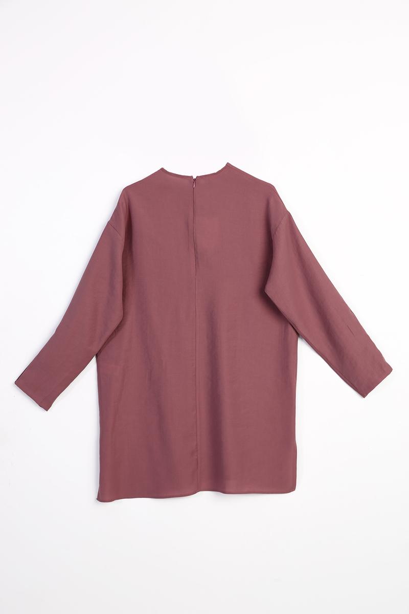 Kol Çıtçıtlı Basic Tensel Tunik