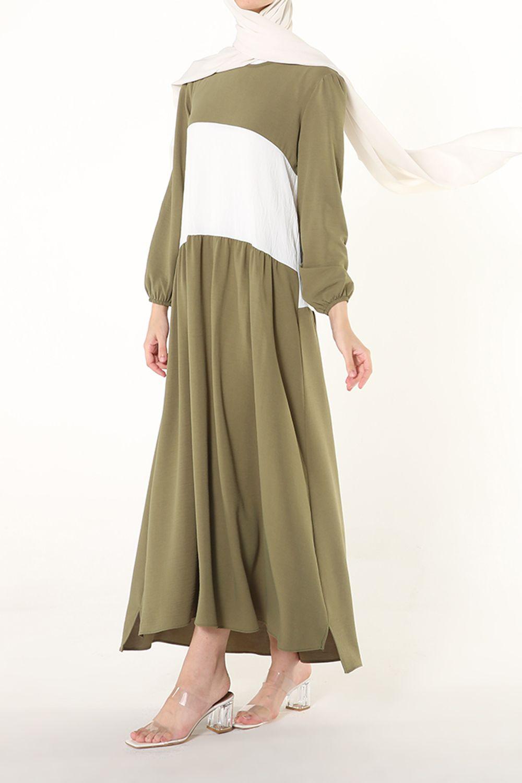 Kol Lastikli Salaş Elbise