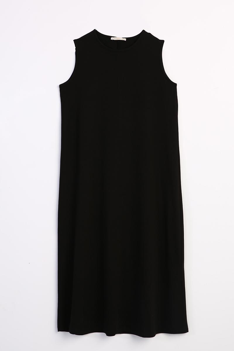 Kolsuz Basic İçlik Elbise