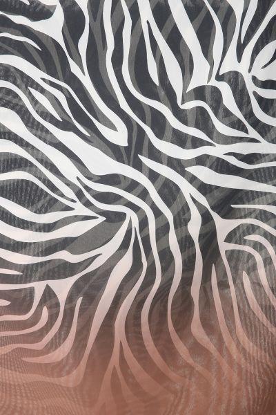 Desenli Şifon Şal