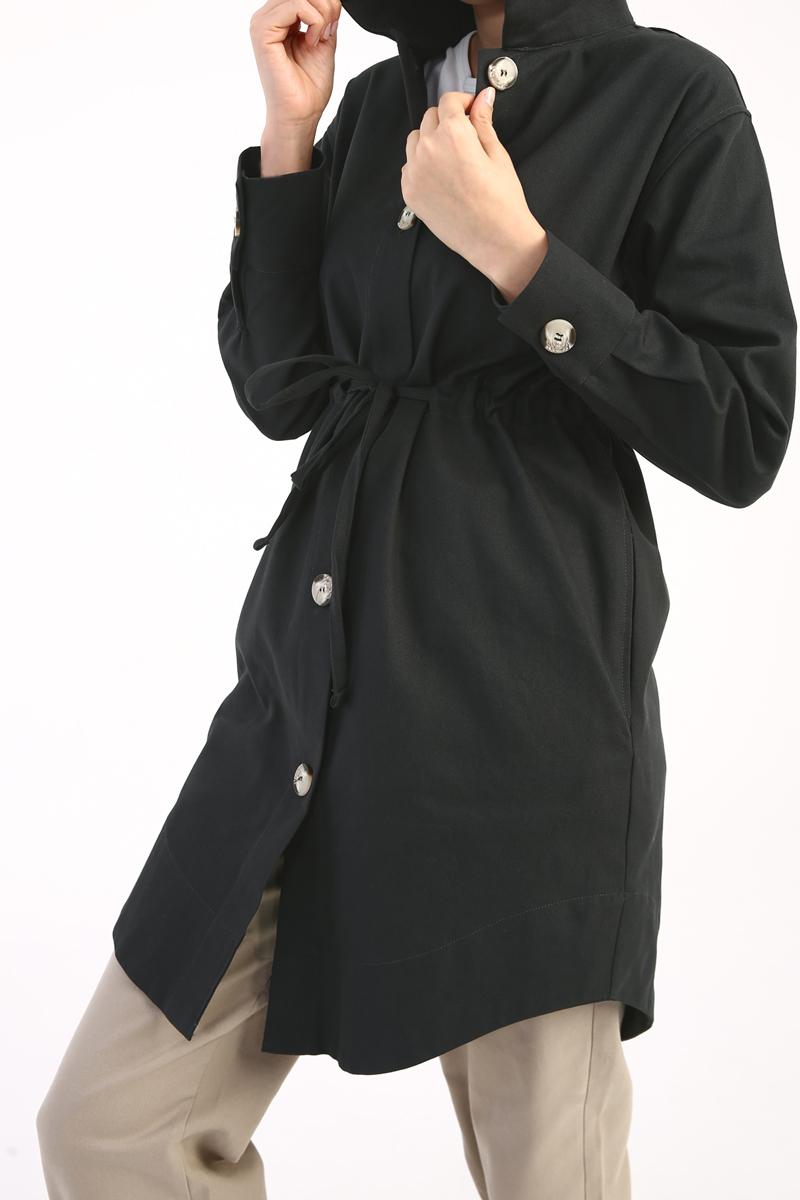 Kuşaklı Ceket
