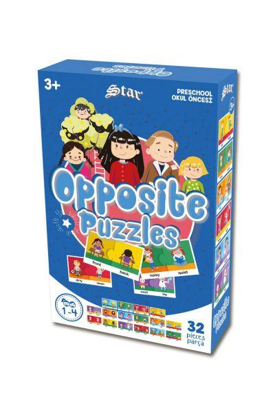 Okul Öncesi Opposite Puzzle