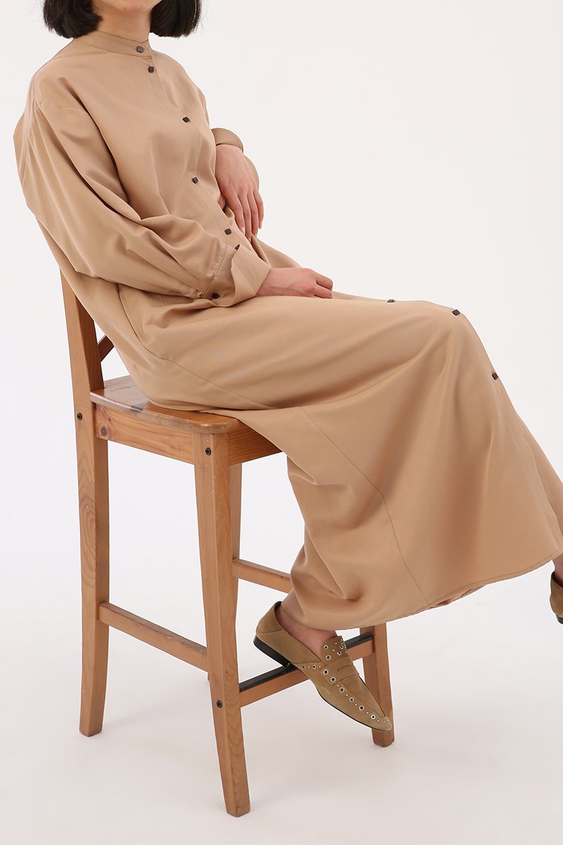 Oversize Gömlek Elbise