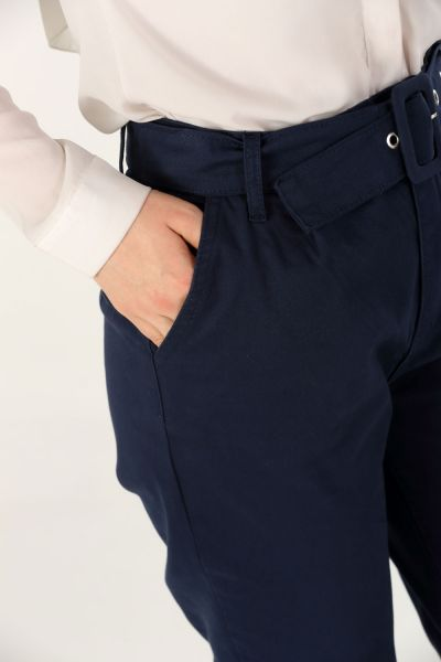 Kemerli Pantolon