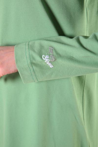Patı Garnili Gömlek Yakalı Tunik