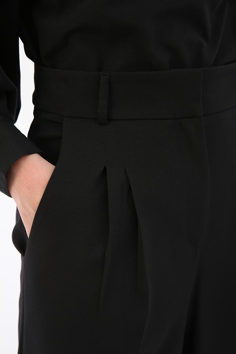 Pileli Bol Paça Pantolon