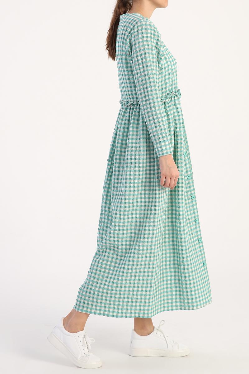 Pötikare Desenli Elbise
