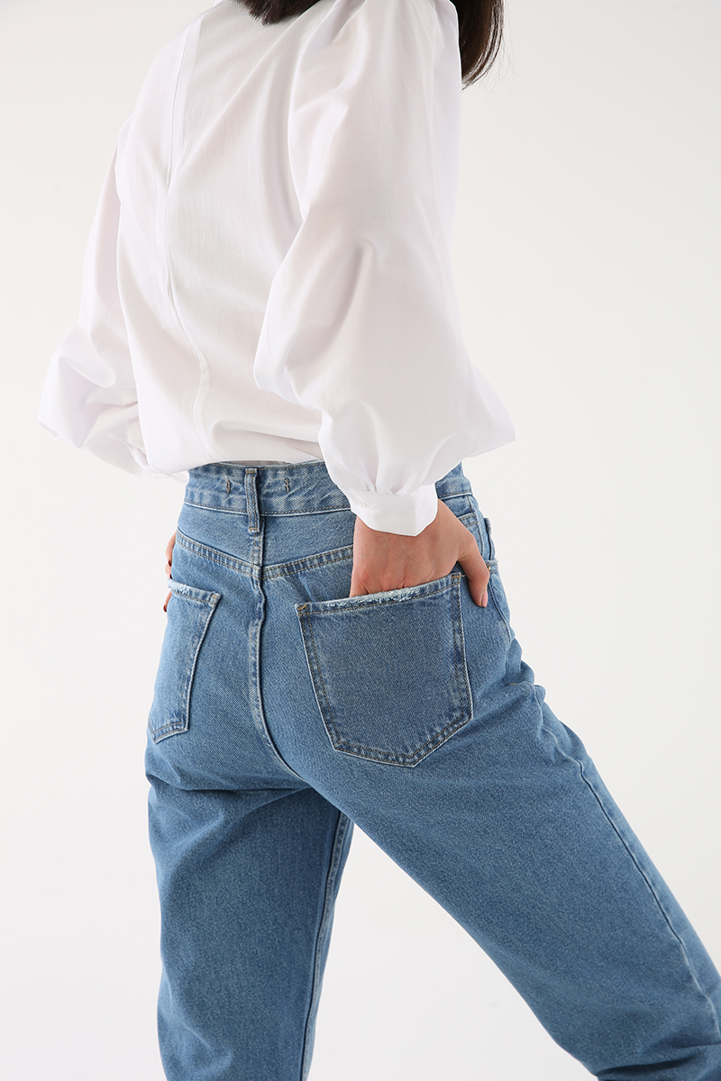 Rahat Kalıp Kot Pantolon