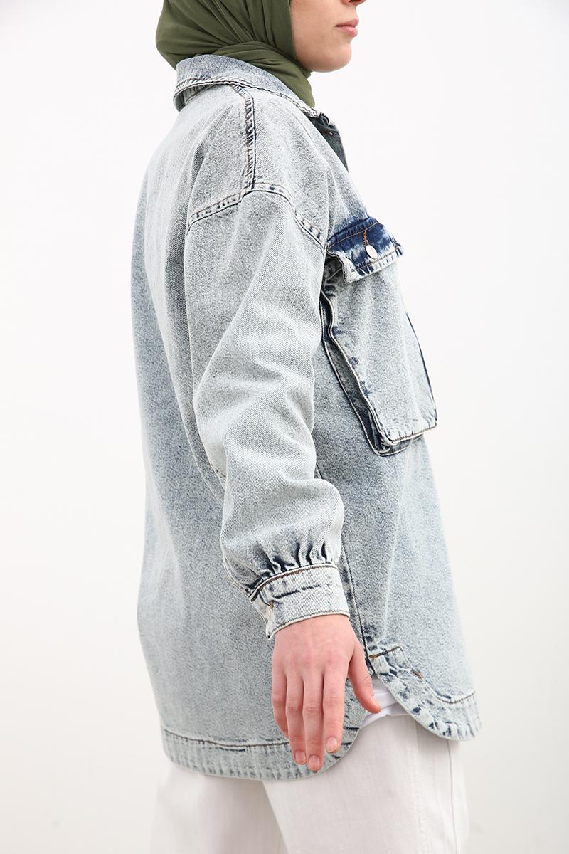 Salaş Kot Ceket