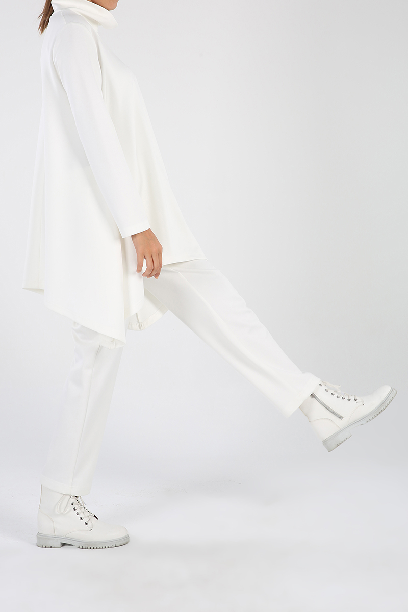Salaş Pantolonlu Cepli Takım