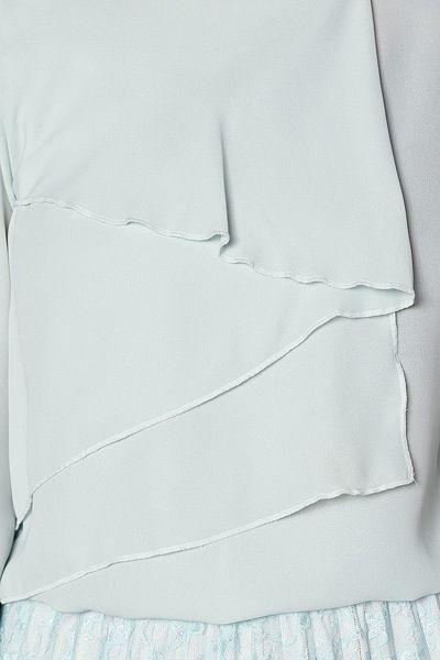Dökümlü Şifon Bluz