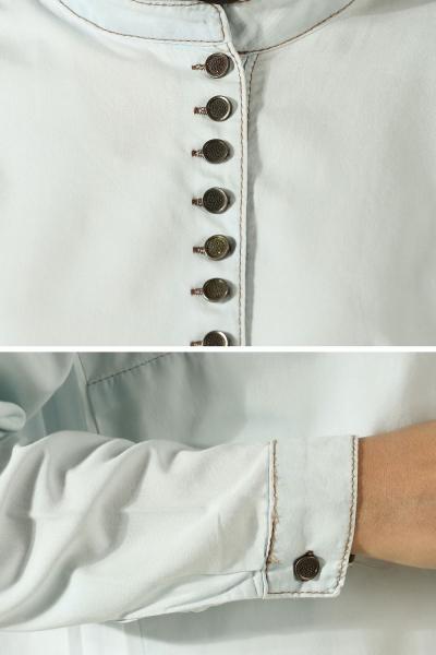 Büyük Beden Sık Düğmeli Tunik