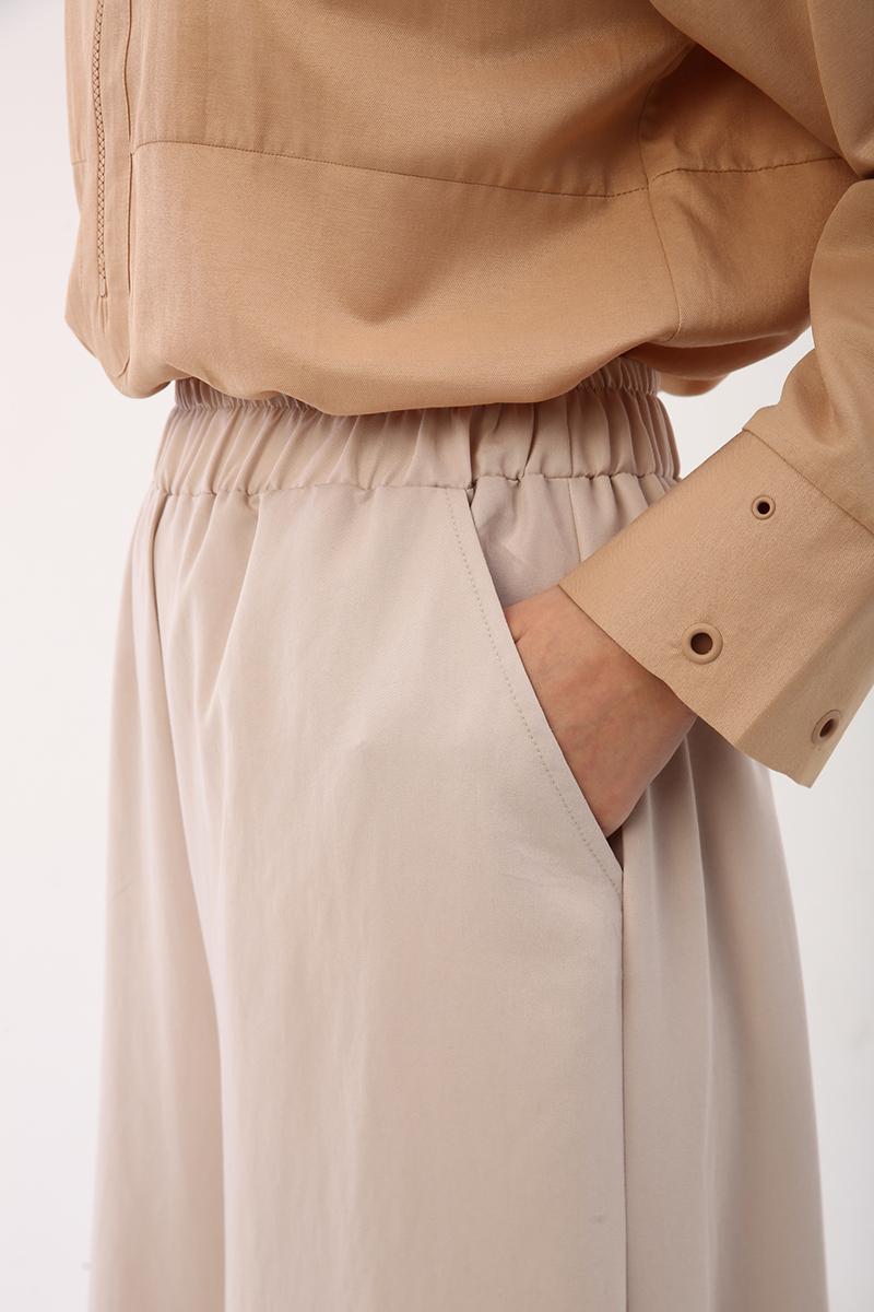 Tensel Bol Paça Pantolon