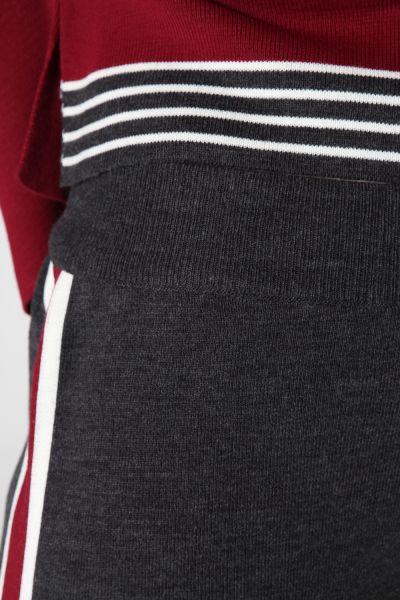 Triko Garnili Pantolonlu İkili Takım
