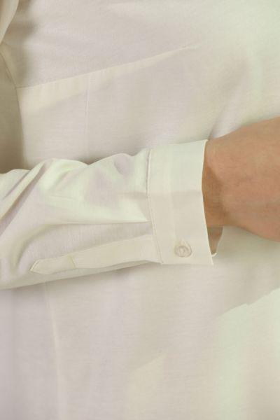 Gizli Patlı Uzun Gömlek Tunik