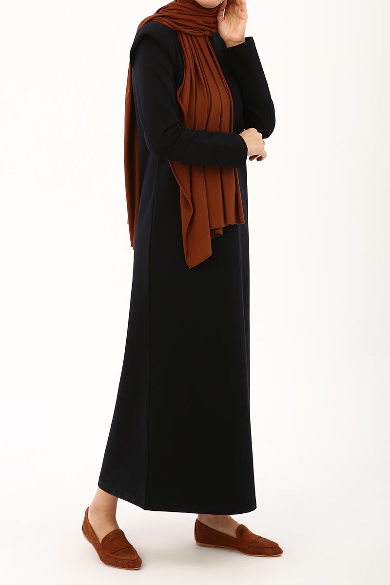 Vatkalı Penye Elbise