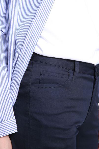 Yarece Duble Paça Fermuarlı Bol Pantolon