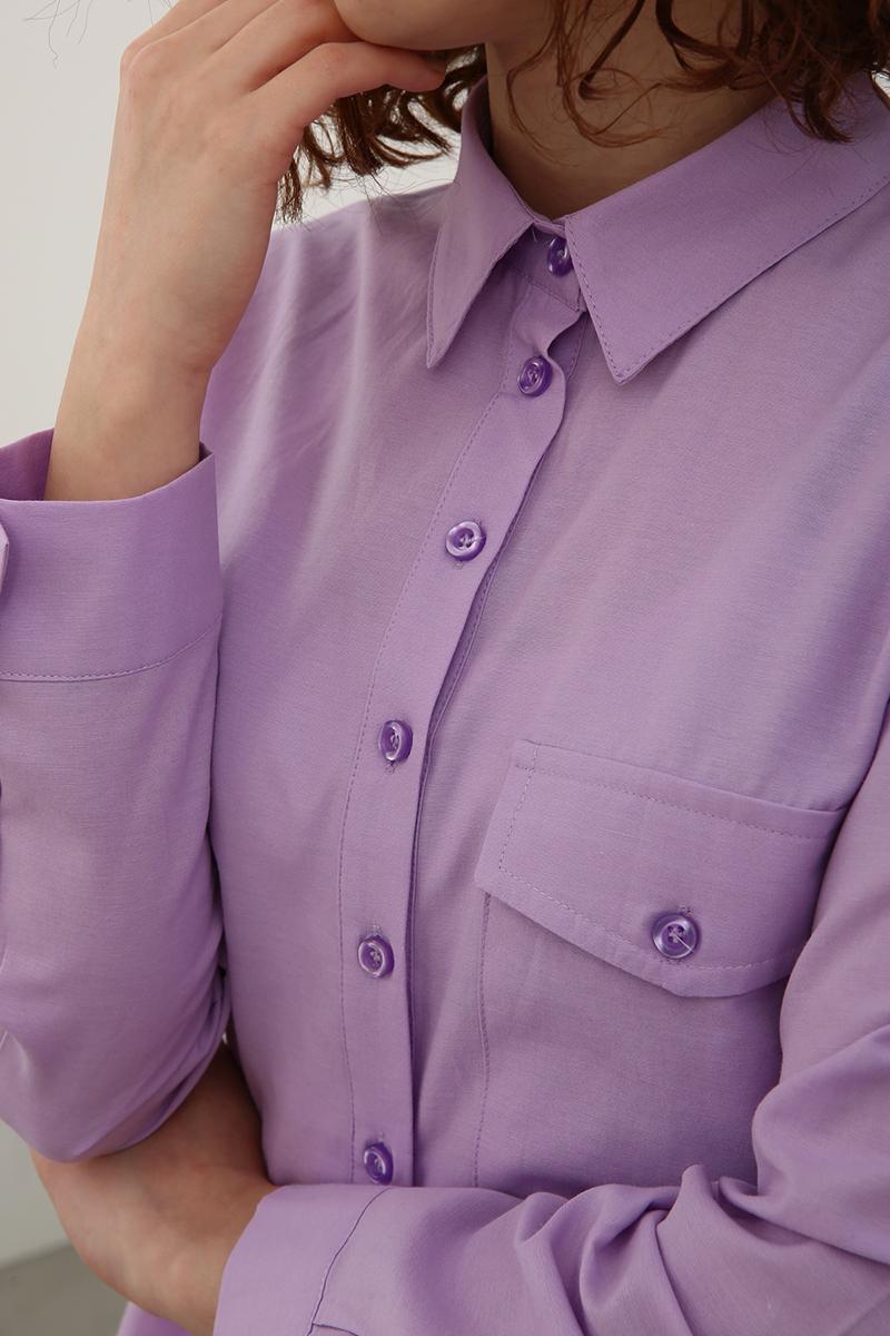 Yarım Patlı Gömlek Tunik