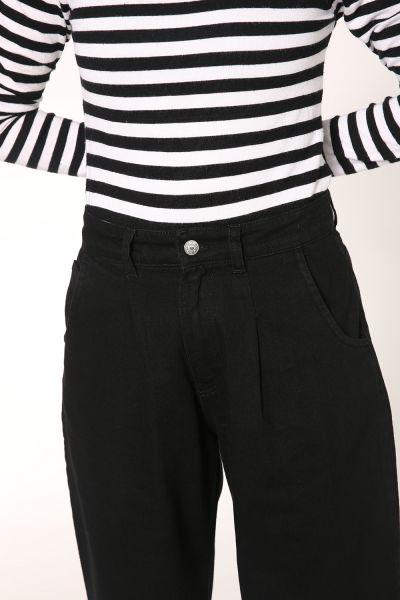 Yüksek Bel Slouchy Pantolon